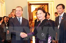 Hoạt động của Chủ tịch Quốc hội Nguyễn Thị Kim Ngân tại Liên bang Nga