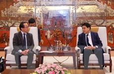 Thành phố Hà Nội và JICA phối hợp đẩy nhanh tiến độ các dự án