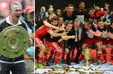 Cận cảnh 13 lần Bayern Munich giành cả Bundesliga và Cúp Quốc gia
