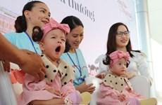 Thành phố Hồ Chí Minh: Cặp song sinh Trúc Nhi-Diệu Nhi xuất viện