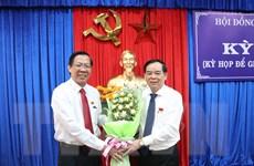 Ông Trần Ngọc Tam được bầu giữ chức Chủ tịch UBND tỉnh Bến Tre