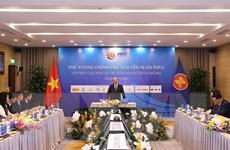 Thủ tướng Nguyễn Xuân Phúc gặp các nhà tài trợ Hội nghị Cấp cao ASEAN