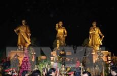 Khu di tích Bạch Đằng Giang đón nhận bằng xếp hạng di tích quốc gia