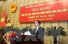 Nhiều dấu ấn nổi bật của HĐND thành phố Hà Nội nhiệm kỳ 2016-2021