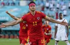 Cận cảnh trận cầu bất phân thắng bại giữa Thụy Sĩ và Xứ Wales