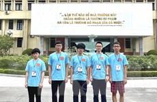 Học sinh Việt Nam giành 3 HCV, 2 HCB tại Olympic Vật lý 2021
