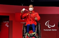 Đô cử Lê Văn Công giành huy chương Bạc tại Paralympic Tokyo 2020