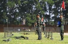 Đội tuyển quân đội Việt Nam tranh tài môn bắn tỉa ở Army Games