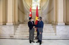 Bộ trưởng Bùi Thanh Sơn gặp song phương quyền Ngoại trưởng Cuba