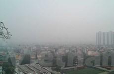 """Chất lượng không khí ngày cuối tuần """"rất xấu"""" bao trùm Thủ đô Hà Nội"""