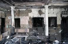 Hỏa hoạn thiêu rụi ngôi chùa gần 60 năm tuổi ở Phú Yên