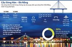 [Infographics] Cầu sông Hàn - điểm nhấn độc đáo của thành phố Đà Nẵng
