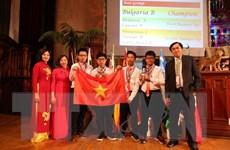 Việt Nam lọt tốp 5 cuộc thi học sinh giỏi toán quốc tế tại Nam Phi