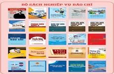Ra mắt bộ sách nghiệp vụ báo chí nhân Ngày Báo chí Cách mạng Việt Nam