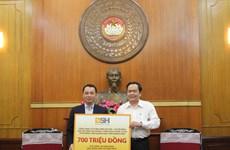 Bảo hiểm BSH ủng hộ 700 triệu đồng hỗ trợ miền Trung chống COVID-19