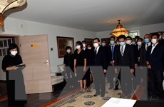 Trang trọng Lễ viếng nguyên Tổng Bí thư Lê Khả Phiêu tại Thụy Sĩ, Đức