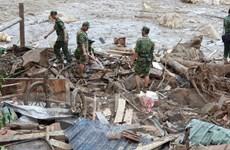 [Photo] Sạt lở kinh hoàng tại Quảng Nam: Tang thương ở xã Trà Leng