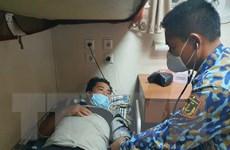 Bạc Liêu: Kịp thời đưa một ngư dân đau ruột thừa vào bờ cấp cứu