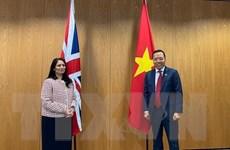 Việt Nam-Anh thúc đẩy hợp tác toàn diện trong lĩnh vực an ninh, nội vụ