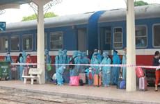 Thừa Thiên-Huế đón 386 công dân trở về từ vùng dịch bằng tàu hỏa