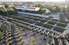 Nga-Tajikistan-Uzbekistan tập trận 3 bên tại biên giới với Afghanistan