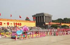 [Photo] Kỷ niệm 74 năm Cách mạng Tháng Tám và Quốc khánh 2/9