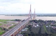 """[Photo] Những cây cầu giúp Đồng bằng sông Cửu Long """"cất cánh"""""""