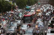 [Photo] Thành phố Hà Nội vẫn còn 33 điểm đen ùn tắc giao thông