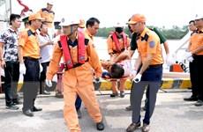 Huy động lực lượng tìm kiếm các ngư dân tàu cá TH 90282 bị mất tích
