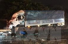 Tai nạn giao thông nghiêm trọng tại Tiền Giang, 20 người thương vong