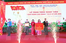 Huyện Nhơn Trạch đón danh hiệu Anh hùng lao động thời kỳ đổi mới