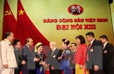 [Photo] Ngày 29/1, Đại hội XIII tiếp tục làm việc về công tác nhân sự