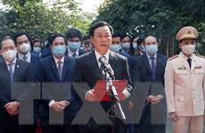 Dâng hương tưởng niệm, tri ân công đức các Vua Hùng Xuân Tân Sửu 2021