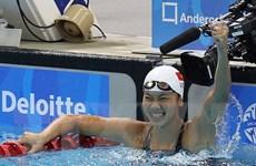 Kình ngư Ánh Viên chính thức giành vé tham dự Olympic Tokyo 2020