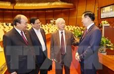 [Photo] Quốc hội tiến hành quy trình miễn nhiệm Chủ tịch nước