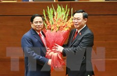 [Photo] Ông Phạm Minh Chính tuyên thệ nhậm chức Thủ tướng Chính phủ