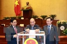Quốc hội phê chuẩn đề nghị bổ nhiệm một số Phó Thủ tướng, Bộ trưởng