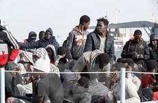 Libya giải cứu hơn 170 người di cư ở ngoài khơi bờ biển phía Tây
