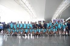 Đội tuyển Việt Nam chỉ cách ly 7 ngày sau khi trở về nước từ UAE