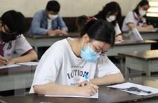 Thí sinh Thành phố Hồ Chí Minh an tâm, tự tin vào phòng thi