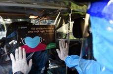 Một ngày ý nghĩa của tài xế vận chuyển nhân viên y tế trong tâm dịch