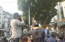 [Photo] Khách sạn Sofitel Metropole Hà Nội tấp nập trước 'giờ G'