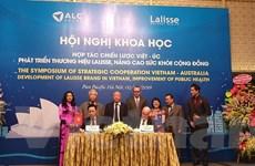 Sản phẩm của Lalisse Australia chính thức được phân phối tại Việt Nam