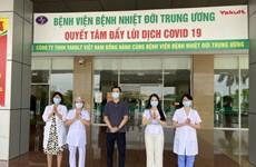 Thêm 3 trường hợp mắc COVID-19 được công bố khỏi bệnh