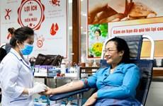 Chương trình hiến máu Blouse trắng vượt xa chỉ tiêu đã đề ra