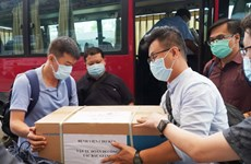 Đội ngũ tinh nhuệ của Bệnh viện Chợ Rẫy tới điểm nóng Bắc Giang