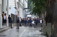 Đoàn Triều Tiên kiểm tra công tác chuẩn bị cho cuộc gặp đầu tiên