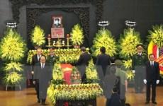 Lễ truy điệu và đưa tang Trung tướng Đồng Sỹ Nguyên