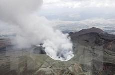 Núi lửa Aso ở Nhật Bản ''thức giấc'' sau 2 năm rưỡi ngủ yên