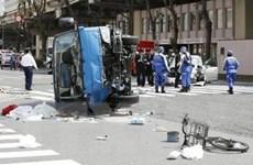 Nhật Bản: Xe ôtô lao vào dòng người đi bộ làm 2 người chết